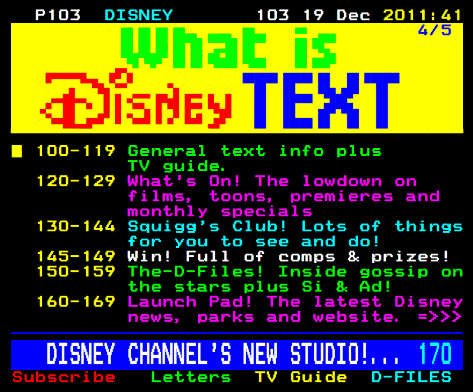Disney archives tvguide. Co. Uk news.